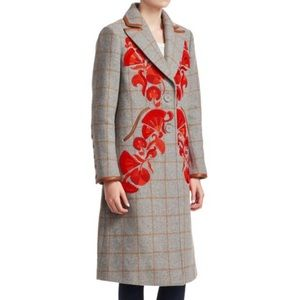 Tanya Taylor Embroidered Coat